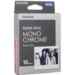 Fujifilm Instax Wide film Monochrome foto papir 10 listova (1x10) za Fuji instant polaroidni fotoaparat Wide 210, Wide 300, Lomography