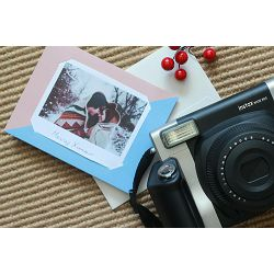 Fujifilm MSG Photo message card for Fuji Instax WIDE Brown Blue karta za fotografije smeđa plava