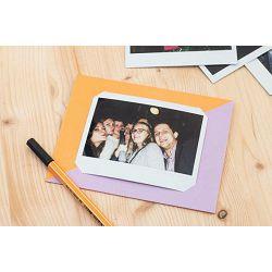 Fujifilm MSG Photo message card for Fuji Instax WIDE Orange Purple karta za fotografije narančasta ljubičasta