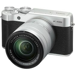 Fujifilm X-A10 + XC 16-50 II KIT digitalni mirrorless fotoaparat s objektivom 16-50mm f3.5-5.6 OIS II Fuji Body 16 MP APS-C 3.0