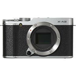 Fujifilm X-A2 body silver 16MP digitalni mirrorless fotoaparat Fuji