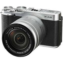 Fujifilm X-A2 + XC 16-50 II f3.5-5.6 silver Fuji 16-50mm digitalni fotoaparat