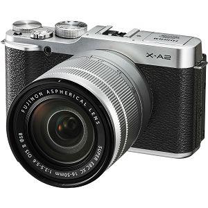 Fujifilm X-A2 + XC 16-50 II f3.5-5.6 + XC 50-230mm 50-230 II f4.5-6.7 silver