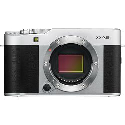 Fujifilm X-A5 + XC 15-45mm f/3.5-5.6 OIS PZ KIT Silver srebreni digitalni fotoaparat s objektivom 15-45 XC15-45 Fuji Finepix Mirrorless Digital Camera