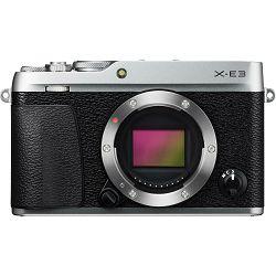 Fujifilm X-E3 Body Silver srebreni Digitalni fotoaparat tijelo Mirrorless camera Fuji Finepix XE3 24Mpx