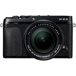 Fujifilm X-E3 + XF 18-55 EE KIT Black crni Digitalni fotoaparat s objektivom XF18-55mm Mirrorless camera Fuji Finepix XE3