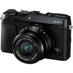 Fujifilm X-E3 + XF 23mm f/2 WR EE KIT Black crni Digitalni fotoaparat s objektivom XF23mm F2 Mirrorless camera Fuji Finepix XE3