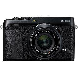 Fujifilm X-E3 + XF 23mm f/2 WR EE KIT Black crni Digitalni fotoaparat s objektivom XF23mm F2 Mirrorless camera Fuji Finepix XE3