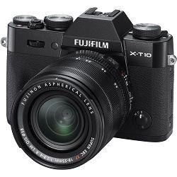 Fujifilm X-T10 18-55mm Black crni Mirrorless Digital Camera Fuji with 18-55 Lens