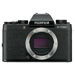 Fujifilm X-T100 Body Black crni Digitalni fotoaparat Mirrorless camera Fuji Finepix 24MP APS-C CMOS 3.0