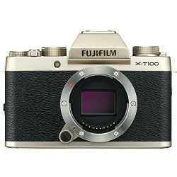 Fujifilm X-T100 Body Champagne Gold zlatni Digitalni fotoaparat Mirrorless camera Fuji Finepix 24MP APS-C CMOS 3.0