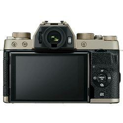 Fujifilm X-T100 Body Champagne Gold zlatni Digitalni fotoaparat Mirrorless camera Fuji Finepix 24MP APS-C CMOS 3.0
