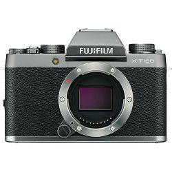 Fujifilm X-T100 Body Dark Silver tamno srebreni Digitalni fotoaparat Mirrorless camera Fuji Finepix 24MP APS-C CMOS 3.0