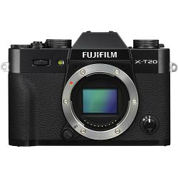 Fujifilm X-T20 Body Black crni Digitalni fotoaparat Mirrorless camera Fuji Finepix