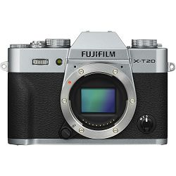 Fujifilm X-T20 Body Silver srebreni Digitalni fotoaparat Mirrorless camera Fuji Finepix