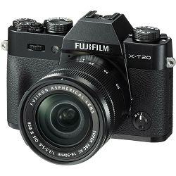 Fujifilm X-T20 + XC 16-50 f3.5-5.6 OIS II Black crni digitalni mirrorless fotoaparat s objektivom 16-50mm Fuji