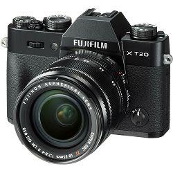 Fujifilm X-T20 + XF 18-55 f2.8-4 R LM OIS Black crni digitalni mirrorless fotoaparat s objektivom 18-55mm Fuji
