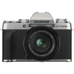 Fujifilm X-T200 + XC 15-45mm f/3.5-5.6 OIS PZ Silver KIT Srebrni Fuji digitalni mirrorless fotoaparat s objektivom (16647111)