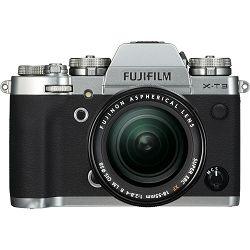 Fujifilm X-T3 + 18-55 KIT Silver srebreni digitalni mirrorless fotoaparat s objektivom XF 18-55mm f/2.8-4 R LM OIS Fuji Finepix XT3