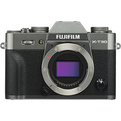 Fujifilm X-T30 Body Charcoal Gray sivi Digitalni fotoaparat Mirrorless camera Fuji Finepix (16619700)