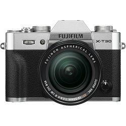 Fujifilm X-T30 + XF 18-55 f2.8-4 R LM OIS Silver srebreni digitalni mirrorless fotoaparat s objektivom 18-55mm Fuji (16619841)