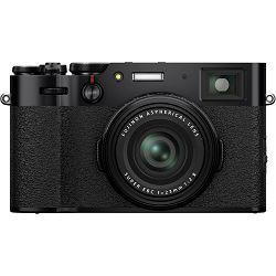 Fujifilm X100V Black crni digitalni fotoaparat s integriranim objektivom 35mm f/2 (16643036)