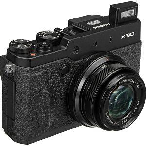 Fujifilm X-30 Black Fuji X-30 4X digitalni fotoaparat Pro Enthusiast fixed lens 4X Manual F2.0-F2.8, X-Trans 2 PD (12m, 2/3