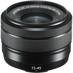 Fujifilm XC 15-45mm f/3.5-5.6 OIS PZ Black Fuji Fujinon standardni objektiv 15-45 zoom lens