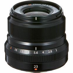 Fujifilm XF 23mm f/2 R WR Lens (Black) objektiv f2 Fuji Fujinon