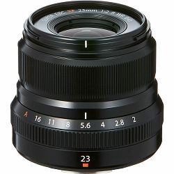 Fujifilm XF 23mm f/2 R WR Lens (Black) objektiv f2