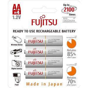 Fujitsu baterije White 4xAA 1900mAh HR-3UTCEX (4B)