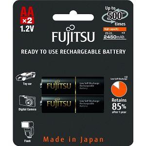 Fujitsu baterije Black 2xAA 2450mAh HR-3UTHCEX (2B)