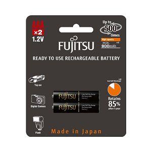 Fujitsu baterije Black 2xAAA 900mAh HR-4UTHCEX (2B)