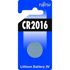 Fujitsu CR2016 alkalna baterije CR2016(1B) alkaline batteries Lithium Coin Cell