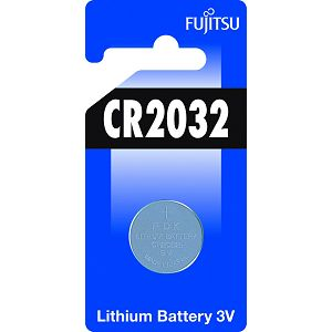 Fujitsu CR2032 alkalna baterije  CR2032(1B) alkaline batteries Lithium Coin Cell