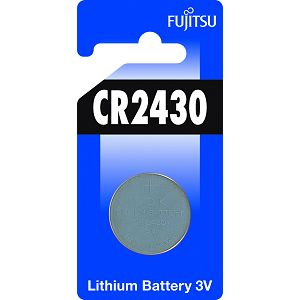 Fujitsu CR2430 alkalna baterije  CR2430(1B) alkaline batteries Lithium Coin Cell