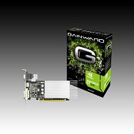 GAINWARD Video Card GeForce GT 610 DDR3 1GB/64bit, 810MHz/535MHz, PCI-E 2.0 x16,HDMI,DVI, VGA Heatsink, Retail