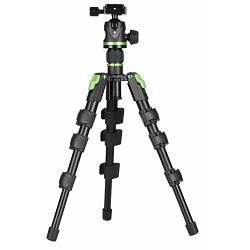 Genesis Base ABT KIT Mini Green stativ za fotoaparat tripod + ABH-36 ball head kuglasta glava s Arca-Swiss quick release brzoskidajućom pločicom