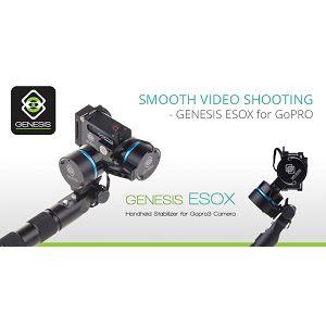Genesis ESOX hand stabilizer motorizirani stabilizator za GoPro HERO3 i HERO4 akcijske kamere