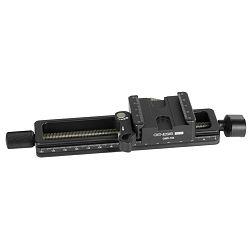 Genesis GMR-150 2-smjerna tračnica šina s milimetarskom skalom za macro fotografiju s quick release plate Arca-Swiss type pločicom za glavu stativa