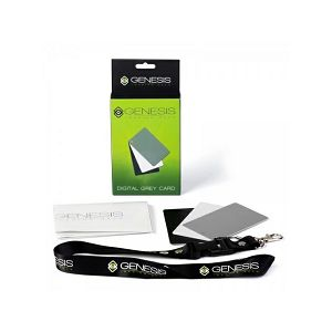 Genesis karta za kalibraciju balansa boje (crna, siva, bijela) - Digital Grey Card