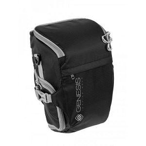Genesis Rover Toploader S Black crna foto torba za fotoaparat s objektivom