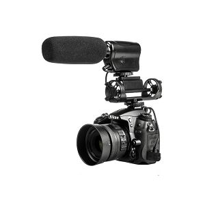 Genesis ST-02 stereo mikrofon za DSLR i kamere STEREO SHOTGUN MICROPHONE FOR CAMERAS AND CAMCORDERS