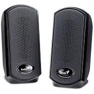 Genius zvučnici SP-110U, 1W, crni, USB