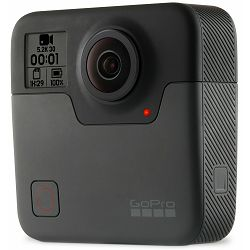 GoPro Fusion 5.2K30p 3K60p 18Mpx 360 video WiFi GPS Sportska akcijska digitalna kamera (CHDHZ-101)