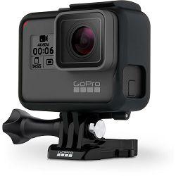 GoPro HERO6 Black Edition 4K60p 2.7K120p 12Mpx WiFi GPS Sportska akcijska digitalna kamera (CHDHX-601)