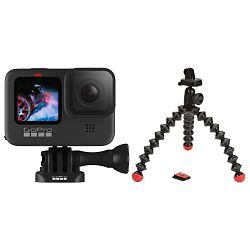 GoPro HERO9 Black (CHDHX-901-RW) + Joby Gorillapod Action tripod (JB01300) PROMO