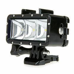 GoXtreme Accessory Light Booster Black 900mAh Waterproof up to 35m vodootporna podvodna lampa za akcijsku kameru (55240)