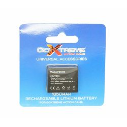 GoXtreme Accessory Lithium Battery 1050mAh 3.7V 3.8Wh punjiva baterija za akcijsku sportsku kameru Stage 2.5 K i Black Hawk 4K Ultra HD (01471)