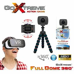 GoXtreme Full Dome 360 Panorama VR Virtual Reality Action Camera FullHD 30fps 2x4MP sportska akcijska kamera (20134)